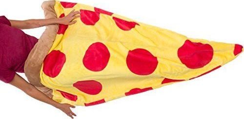 pop punk pizza sleeping bag