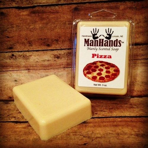 pop punk pizza soap