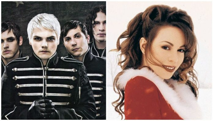 My Chemical Romance Mariah Carey Welcome To The Christmas Parade