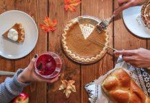 pumpkin pie thanksgiving food
