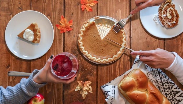 pumpkin pie thanksgiving food