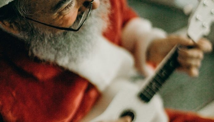 santa guitar metal holiday songs christmas