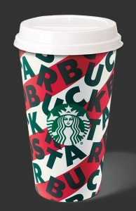Starbucks 2019 holiday cup