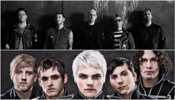 avenged sevenfold, my chemical romance, ten second guy