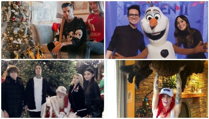 Here's how your favorite artists celebrated Christmas this year