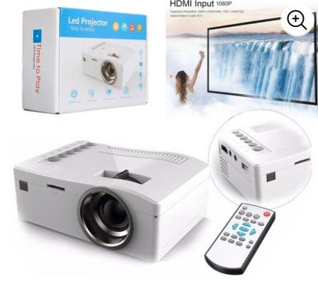 smart phone projector netflix