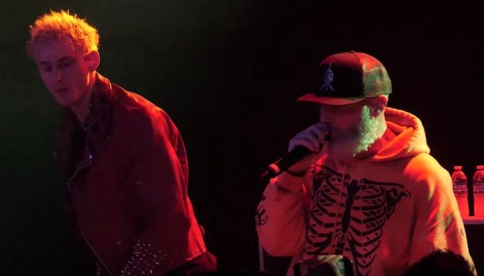 "Machine Gun Kelly joins Limp Bizkit for epic ""Break Stuff"" performance"