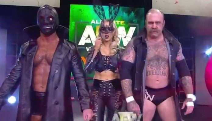 andy williams aew debut