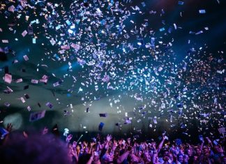 concert tickets crowd christmas gift idea