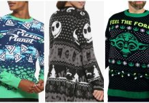 disney christmas sweaters