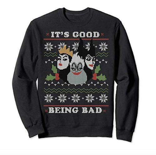 disney villian christmas sweaters