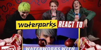 Waterparks React To Waterparks Waterworks awsten knight