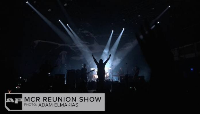 mcr 4 my chemical romance reunion show