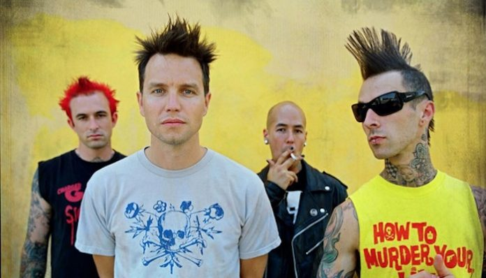 +44 mark hoppus travis barker