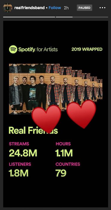 real friends spotify