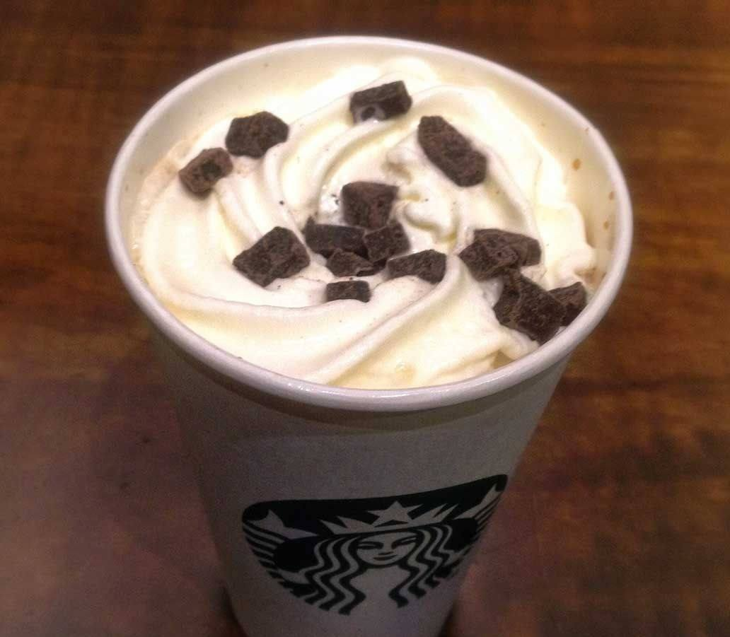 starbucks chocolate Dalmatian