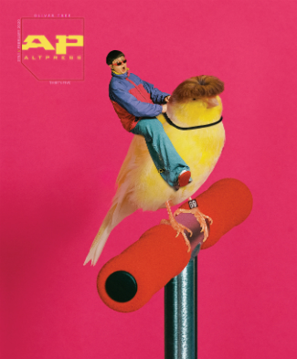 ALTERNATIVE PRESS MAGAZINE 379 - OLIVER TREE