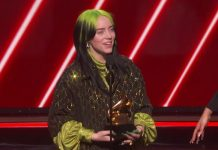 Billie Eilish Wins Best New Artist 2020 grammy