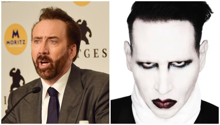 Marilyn Manson, Nic Cage, Kesha hangout hilariously confuses internet