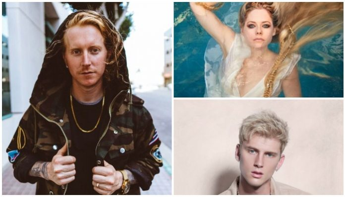 We The Kings Travis Clark Avril Lavigne Machine Gun Kelly collab