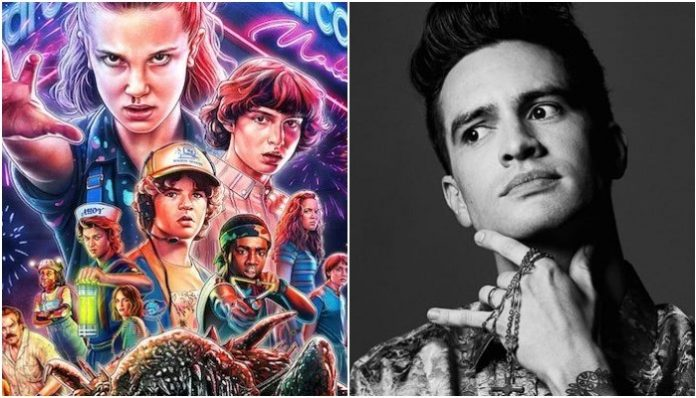 stranger things, panic at the disco, brendon urie, carpool karaoke