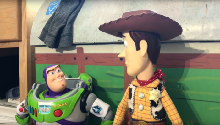 'Toy Story 3' gets real life toy stop motion remake from teen brothers