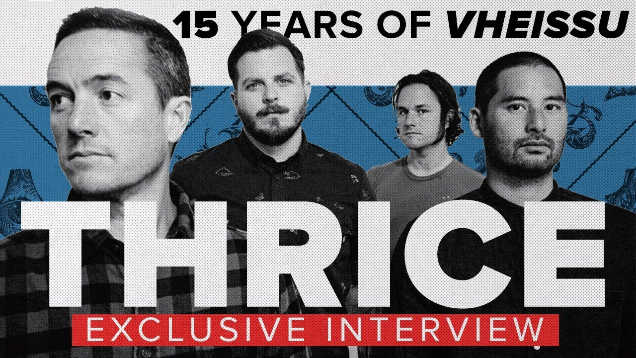 Thrice on Vheissu turning 15, favorite chords and Guitar Center dread