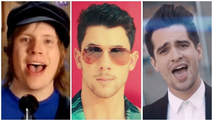 Nick Jonas Embraces Inner Emo With Fall Out Boy P Atd Sing Along