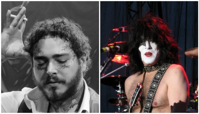 Post Malone/ Paul Stanley