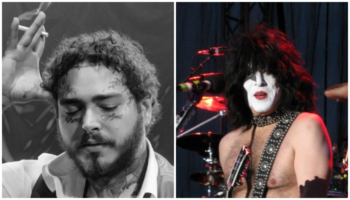 Paul Stanley clarifies he likes Post Malone after criticizing face tattoo trend