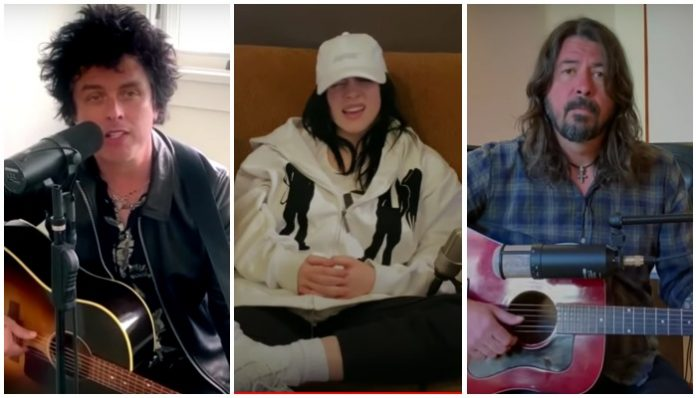 Eilish, Armstrong, Grohl