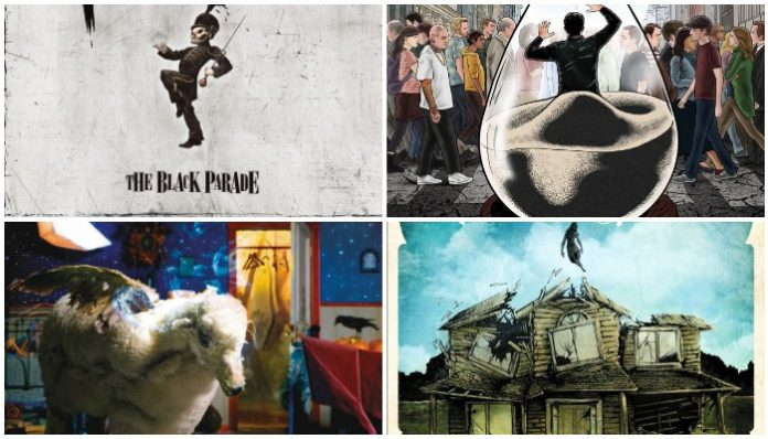 my chemical romance a day to remember fall out boy pierce the veil grammys