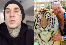Joe Exotic Tiger King Travis Barker