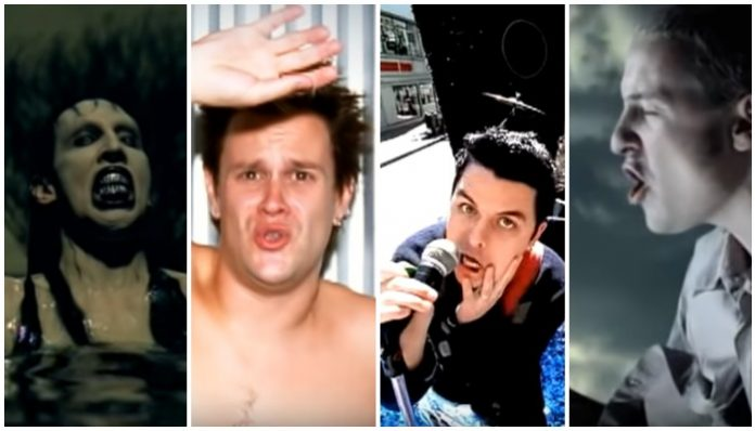 2000 songs, green day, marilyn manson, bowling for soup, chester bennington