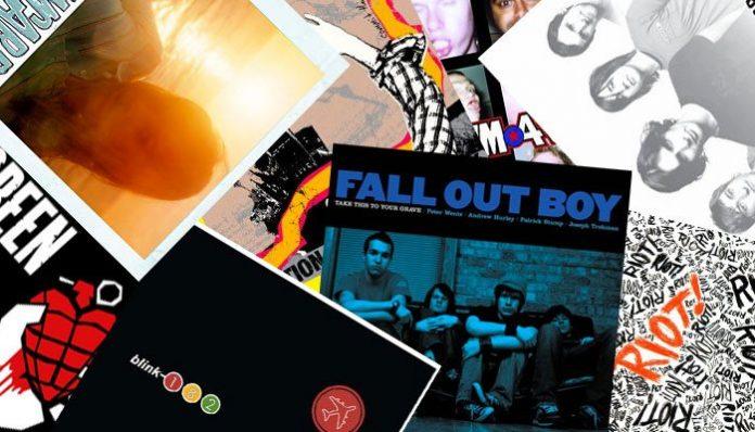 pop punk albums 2000s