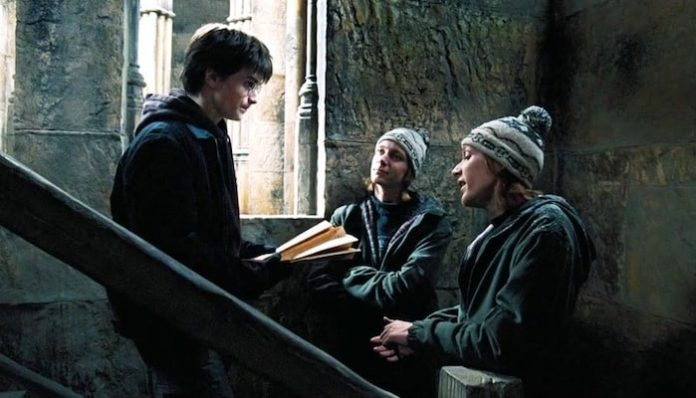Harry Potter Marauder's Map mask