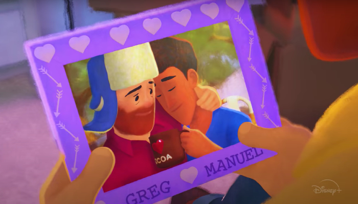 Pixar's 'Out' debuts first gay lead character