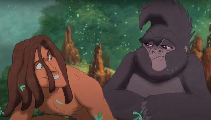Tarzan disney plus