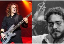 david ellefson megadeth post malone
