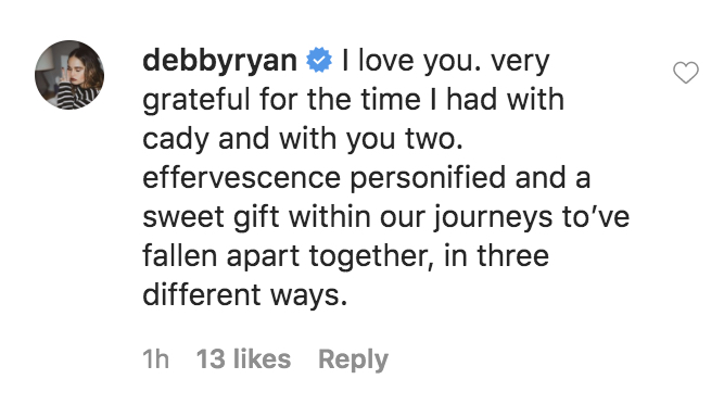 debby ryan cady groves