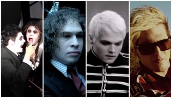my chemical romance album eras