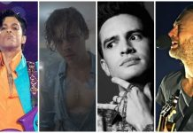 prince, thom yorke, brendon urie, harry styles