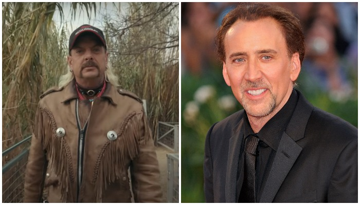 Nicholas Cage to play 'Tiger King' Joe Exotic in scripted TV series