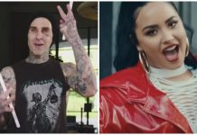 travis barker demi lovato i love me remix