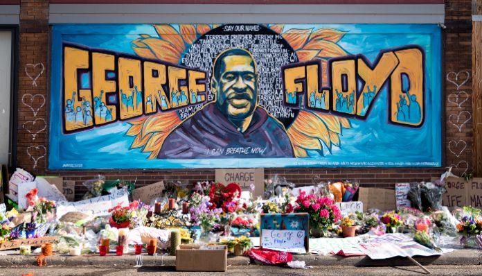 George Floyd mural (1)