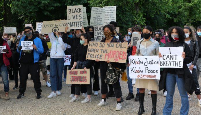 black lives matter protests berlin
