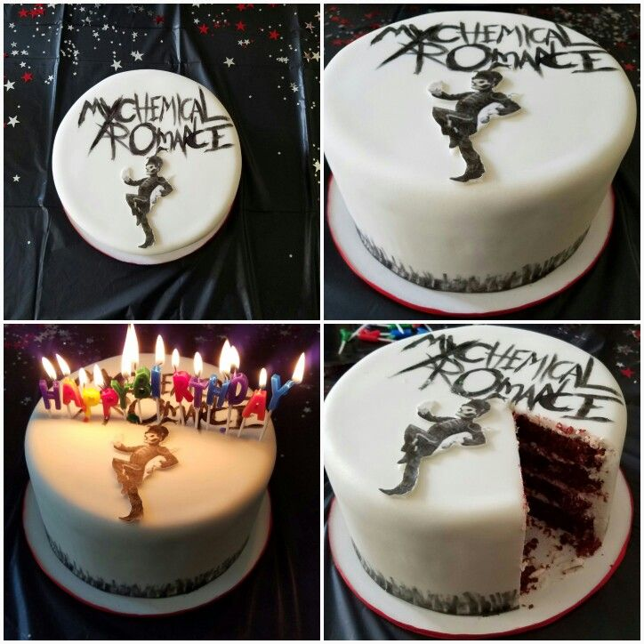 my chemical romance the black parade cake