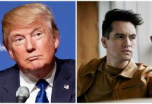 donald trump panic at the disco brendon urie