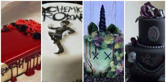 emo birthday cakes