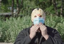 friday the 13th jason voorhees coronavirus face mask psa-min